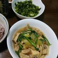 「昨日の晩御飯」!!「鶏すき鍋」!!