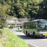 宇野バスなどを撮影