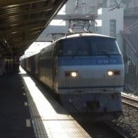EF66-119号機@吹上駅