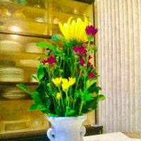 野菜と仏花
