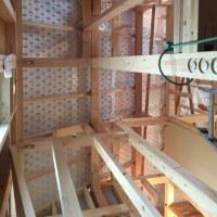 新築工事の内部をお見せ致します。