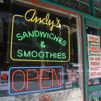 2015ǯ�Ƶ٤� �ؤ��䤹̴�٤ȡ�Andy's Sandwiches and Smoothies��