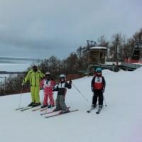 №15 スキー授業 ~頂上の 眺め抜群 ああ流氷~