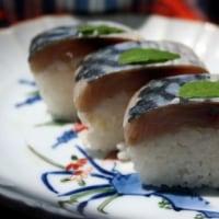 鯖の棒寿司の献立