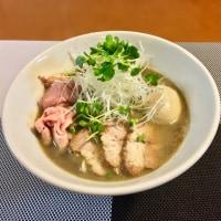 煮干し醤油ラーメン③