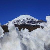 富士山 定点7回目...  どうしても、欲しい雪化粧