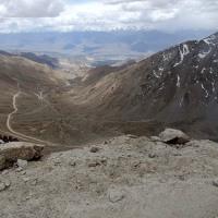 ラダック 山岳道路