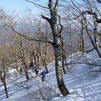 残雪の三瓶山登山(^^♪