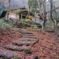 遺産の森から猿啄城へ