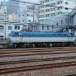 直流電気機関車 EF66-110【東海道貨物線:鶴見駅脇】 2017.JUL(6)撮り鉄 車両鉄