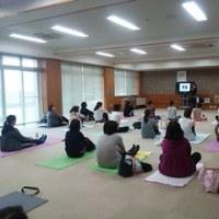 H28 ピラティス講座~学年研修委員会~