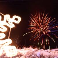 雲仙灯りの花ぼうろ2017・花火の宴 ~氷点下2度の雲仙温泉街で~ 2017/2/11 その2