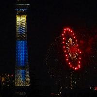 とうに終わってる隅田川の花火