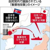 言葉遊び?日本の専守防衛論?