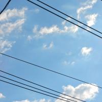 4/24 青い空に白い雲 平和?