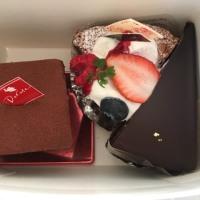 バレンタインチョコレートケーキ!