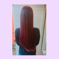 pink brown...