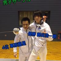 第66回関西学生フェンシング選手権大会男子サーブル個人戦