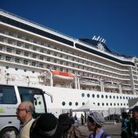 大型クルーズ船の出発港ベネチア(その1)