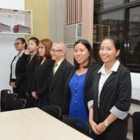 AKI財団で境町へ来日する英語の先生の面接をさせていただきました。