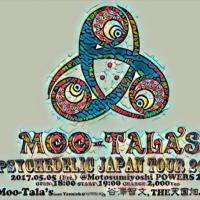 本日Moo-Tala's、谷澤智文、Yannickと共にPowers2!