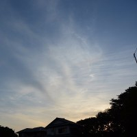 5月22日、午前5時過ぎの空模様