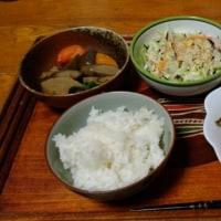 2月24日夕 お惣菜オンパレード