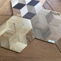 "六角形フローリング/FANCY STAR FLOORING ""CUBIC"""