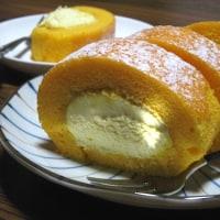 夕飯◆カレーライス、ロールケーキでお祝い
