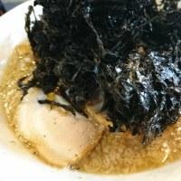 滋魂さん 岩海苔中華 大盛り+味玉