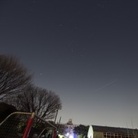 17/02/17  昨夜の国際宇宙ステーション ISSは火星と金星とオリオン座の近くを通過!
