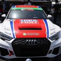 アウディRS3のレーシングカー