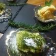 抹茶ティラミス&あんずのパルフェ