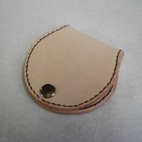 本革:手縫い:シンプルデザインの小銭入れ3種をクリーマに出品しました♪