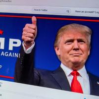 トランプ支持率が再上昇、クリントンに4ポイント差に詰める