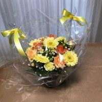 きれいなお花をいただきました。