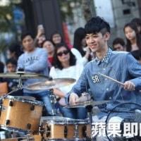 台湾の若手街頭芸人の試験と街頭芸人李科穎KE