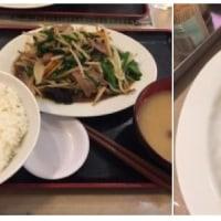 夕飯は早い時間に食べていました。