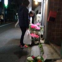 一日の終わりの花