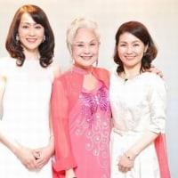 マダム路子日本ベジデコサラダ協会設立パーティへ
