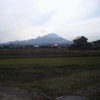 米子市内からの大山