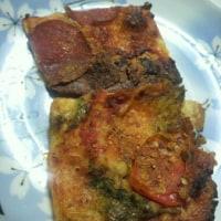 千愛ちゃんのまかないピザ