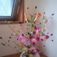 余った花で