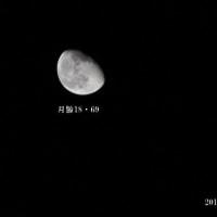 月と木星が接近、スピカが並ぶ