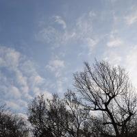 3月25日、午前6時~7時過ぎの空模様
