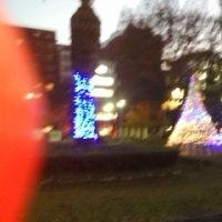 おっ!公園もクリスマスか。
