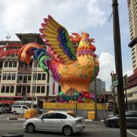 チャイナタウンinシンガポール