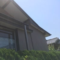 夏の西陽対策に アルミ部材で日除けを作成 茨城 利根