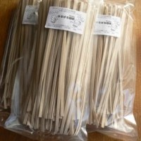 自家シラネ小麦の乾麺(うどん・パスタ風にも)