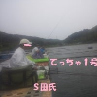 2017/6/21   6/18(日)西大谷池 桟橋